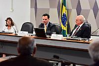 BRASILIA, DF – 07.06.2016 – KASSAB–SENADO – O ministro da Ciência e Tecnologia, Inovação e Comunicação, Gilberto Kassab durante reunião no Senado Federal para esclarecer a fusão dos ministérios nesta nova fase do governo, na manhã desta terça-feira, 07, no Senado Federal em Brasília. (Foto: Ricardo Botelho/Brazil Photo Press)