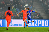 31st October 2017, St Jakob-Park, Basel, Switzerland; UEFA Champions League, FC Basel versus CSKA Moscow; Eder Alvarez Balanta of FC Basel challenges Pontus Wernbloom of CSKA Moscow for the ball