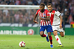 Thomas Lemar of Atletico Madrid during the match between Real Madrid v Rayo Vallecano of LaLiga, 2018-2019 season, date 2. Wanda Metropolitano Stadium. Madrid, Spain - 25 August 2018. Mandatory credit: Ana Marcos / PRESSINPHOTO
