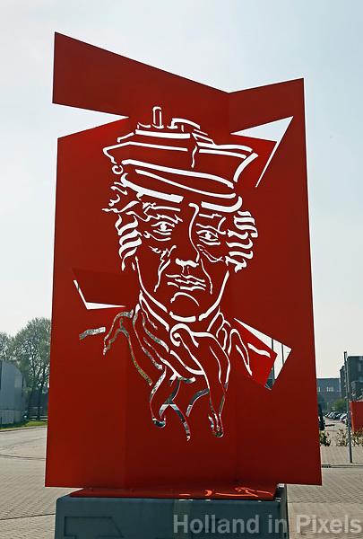 Nederland   Rotterdam 2017.  Rotterdam Heijplaat. Kunst bij de haven.   Foto Berlinda van Dam / Hollandse Hoogte