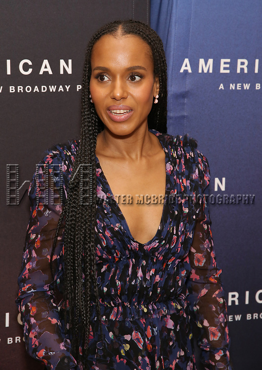 """Kerry Washington attends the Cast photo call for the New Broadway Play """"American Son"""" on September 14, 2018 at the New 42nd Street Studios in New York City."""