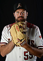 Arizona Diamondbacks Josh Collmenter (55) during photo day on February 28, 2016 in Scottsdale, AZ.