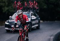 Gianluca Brambilla (ITA/Trek-Segafredo)<br /> <br /> Trofeo Lloseta - Andratx: 140km<br /> 27th Challenge Ciclista Mallorca 2018