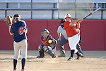 MADISON, WI - APRIL 17: Alexis Garcia #25 of the Wisconsin Badgers softball team hits the ball against the University of Illinois-Chicago at Goodman Diamond on April 17, 2007 in Madison, Wisconsin. (Photo by David Stluka)