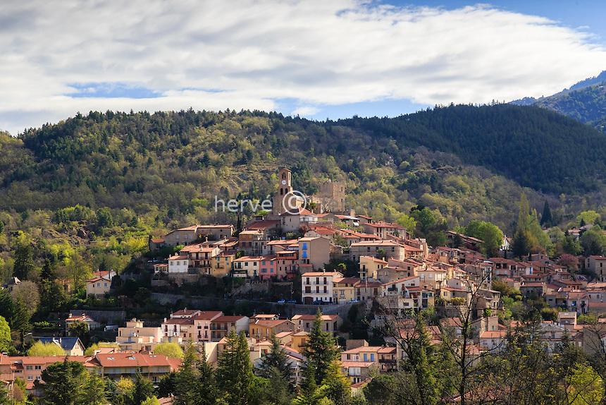 France, Pyrénées-Orientales (66), Vernet-les-Bains // France, Pyrenees Orientales, Vernet les Bains