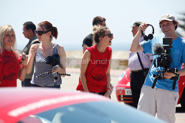 June 13, 2013 Barcelona Spain Patricia Arquette, Jodie Kidd, Leah and Jo Wood and others celebrities seen at Barceloneta in Barcelona during Cash &amp; Rocket event.<br />