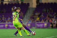 Orlando, FL - Thursday September 07, 2017: Rebekah Stott during a regular season National Women's Soccer League (NWSL) match between the Orlando Pride and the Seattle Reign FC at Orlando City Stadium.