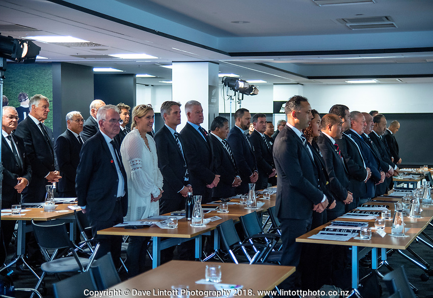 The 2019 New Zealand Maori Rugby Board Annual General Meeting at the New Zealand Rugby House in Wellington, New Zealand on Tuesday, 16 April 2019. Photo: Dave Lintott / lintottphoto.co.nz