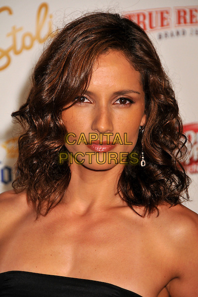 LENOR VARELA.The Maxim's Hot 100 List Party held at Barker Hangar in Santa Monica, California, USA..May 13th, 2009 .headshot portrait leonor strapless.CAP/ADM/BP.©Byron Purvis/AdMedia/Capital Pictures.