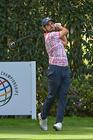 Abraham Ancer (MEX) watches his tee shot on 12 during round 2 of the World Golf Championships, Mexico, Club De Golf Chapultepec, Mexico City, Mexico. 2/22/2019.<br /> Picture: Golffile | Ken Murray<br /> <br /> <br /> All photo usage must carry mandatory copyright credit (© Golffile | Ken Murray)