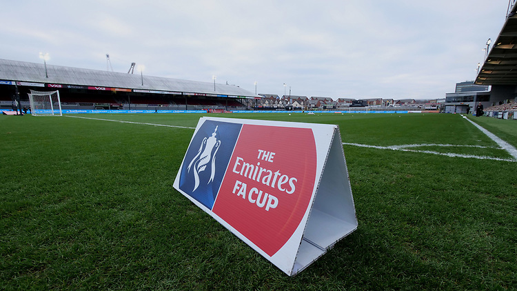 A general view of Rodney Parade home of Newport County<br /> <br /> Photographer Ian Cook/CameraSport<br /> <br /> The Emirates FA Cup Third Round - Newport County v Leicester City - Sunday 6th January 2019 - Rodney Parade - Newport<br />  <br /> World Copyright &copy; 2019 CameraSport. All rights reserved. 43 Linden Ave. Countesthorpe. Leicester. England. LE8 5PG - Tel: +44 (0) 116 277 4147 - admin@camerasport.com - www.camerasport.com