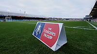 A general view of Rodney Parade home of Newport County<br /> <br /> Photographer Ian Cook/CameraSport<br /> <br /> The Emirates FA Cup Third Round - Newport County v Leicester City - Sunday 6th January 2019 - Rodney Parade - Newport<br />  <br /> World Copyright © 2019 CameraSport. All rights reserved. 43 Linden Ave. Countesthorpe. Leicester. England. LE8 5PG - Tel: +44 (0) 116 277 4147 - admin@camerasport.com - www.camerasport.com