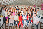21ST PARTY: Aideen Feely, Cois Li, Tralee (seated centre) celebrated her 21st birthday last Saturday night with a party in a marquee at the rear of the family home with lots of family and friends.