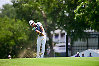 Bud Cauley (USA) hits his approach shot on 10 during round 2 of the Dean &amp; Deluca Invitational, at The Colonial, Ft. Worth, Texas, USA. 5/26/2017.<br /> Picture: Golffile | Ken Murray<br /> <br /> <br /> All photo usage must carry mandatory copyright credit (&copy; Golffile | Ken Murray)
