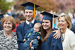 1204-40 2044<br /> <br /> 1204-40 Spring Commencement<br /> <br /> Brigham Young University Graduation<br /> <br /> Students smiling with family, baby <br /> <br /> April 19, 2012<br /> <br /> Photo by Mark A. Philbrick/BYU<br /> <br /> &copy; BYU PHOTO 2012<br /> All Rights Reserved<br /> photo@byu.edu  (801)422-7322