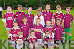 The Cromane team in the u10 Mid Kerry blitz in Beaufort on Saturday front row l-r: Liam Joy, Jason O'Connor, Brice Dourieu. Middle row: Tadgh O'Sheam Jack Clifford, Tiernan O'Sullivan, Sean Ahern, Kieran O'Sullivan. Back row: Sean Moore, Cathal Crosbie, Ann Marie Fealey, Mark O'Connor, Claire O'Sullivan, Adam McCarthy and Dylan Falvey.