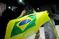 SÃO PAULO,SP,05.11.2018 - MISS-BUMBUM -  Yasmin Alburquerque candidata do Estado de Santa Catarina  durante edição do concurso Miss Bumbum no bairro da Barra Funda na região oeste da cidade de São Paulo nesta segunda-feira, 05.(Foto: Dorival Rosa/Brazil Photo Press)