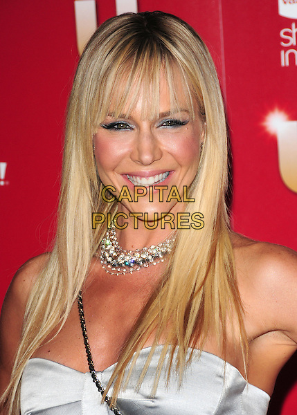 JULIE BENZ.US Weekly's Hot Hollywood Party 2009 held at Voyeur, West Hollywood, California, USA. .November 18th, 2009.headshot portrait choker necklace diamonds silver strapless.CAP/RKE/DVS.©DVS/RockinExposures/Capital Pictures.