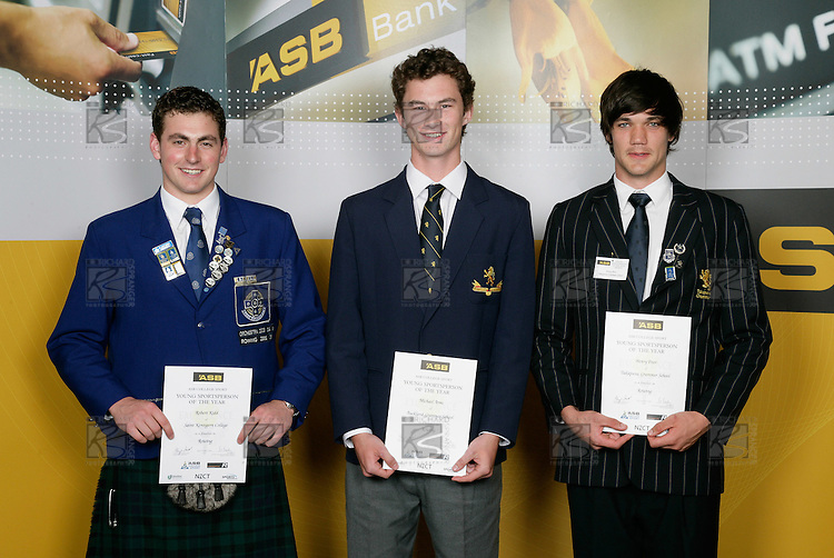 Rowing Boys Finalists. ASB College Sport Young Sportsperson of the Year Awards 2006, held at Eden Park on Thursday 16th of November 2006.<br />