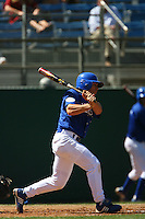 March 28 2009: Joey Gonzalez of the UC Riverside Highlanders during game against the CS Fullerton Titans at Riverside Sports Complex in Riverside,CA.  Photo by Larry Goren/Four Seam Images