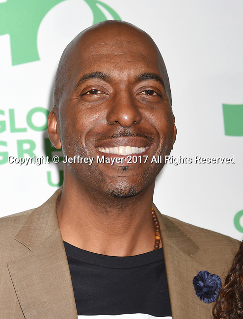 LOS ANGELES, CA - FEBRUARY 22: Former NBA player John Salley arrives at the 14th Annual Global Green Pre-Oscar Gala at TAO Hollywood on February 22, 2017 in Los Angeles, California.