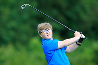 Ryan Keane (Ballina) on the 1st tee during the Connacht U12, U14, U16, U18 Close Finals 2019 in Mountbellew Golf Club, Mountbellew, Co. Galway on Monday 12th August 2019.<br /> <br /> Picture:  Thos Caffrey / www.golffile.ie<br /> <br /> All photos usage must carry mandatory copyright credit (© Golffile | Thos Caffrey)
