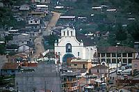 The Templo de San Juan church and Maya village of San Juan Chamula, Chiapas, Mexico