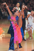 Blackpool Dance Festival that is the most famous event among dance competitions held in Blackpool, United Kingdom on June 01, 2011. ATTILA VOLGYI