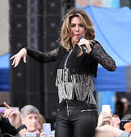 JUN 16 Shania Twain Performs on the Today Show