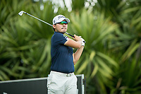 Masahiro KAWAMURA (JPN) during the 3rd round of the AfrAsia Bank Mauritius Open, Four Seasons Golf Club Mauritius at Anahita, Beau Champ, Mauritius. 01/12/2018<br /> Picture: Golffile | Mark Sampson<br /> <br /> <br /> All photo usage must carry mandatory copyright credit (&copy; Golffile | Mark Sampson)