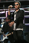 Lenny Kravitz at the ROCK & ROLL HALL OF FAME CONCERT AT MADISON SQUARE GARDEN