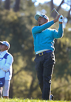 160213 Japan's Hiroshi Iwata during Saturday's Third Round of The AT&T National Pro Am at The Spyglass Hill Golf Club in Carmel, California. (photo credit : kenneth e. dennis/kendennisphoto.com)