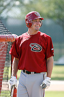 AJ Pollock - Arizona Diamondbacks 2009 Instructional League .Photo by:  Bill Mitchell/Four Seam Images..