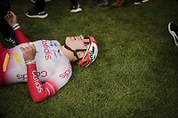 Hugo Hofstetter (FRA/Cofidis) gave his all<br /> <br /> 117th Paris-Roubaix 2019 (1.UWT)<br /> One day race from Compiègne to Roubaix (FRA/257km)<br /> <br /> ©kramon