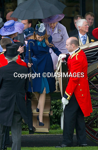 "PRINCESS BEATRICE.attends Ladies Day, Royal Ascot, the premier race event of the calendar, Ascot_16/11/2011.Mandatory Credit Photo: ©DIAS-DIASIMAGES..**ALL FEES PAYABLE TO: ""NEWSPIX INTERNATIONAL""**..IMMEDIATE CONFIRMATION OF USAGE REQUIRED:.DiasImages, 31a Chinnery Hill, Bishop's Stortford, ENGLAND CM23 3PS.Tel:+441279 324672  ; Fax: +441279656877.Mobile:  07775681153.e-mail: info@newspixinternational.co.uk"