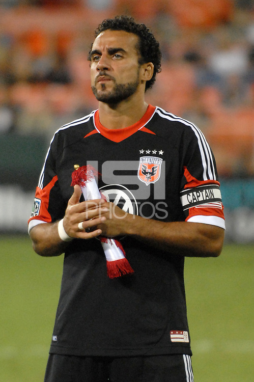 D.C. United forward Dwayne De Rosario (7) The New York Red Bulls tied D.C. United 2-2 at RFK Stadium, Wednesday August 29, 2012.