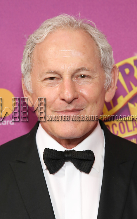 Victor Garber attends the Broadway Opening Performance of 'Charlie and the Chocolate Factory' at the Lunt-Fontanne Theatre on April 23, 2017 in New York City.