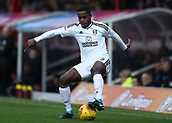 2nd December 2017, Griffen Park, Brentford, London; EFL Championship football, Brentford versus Fulham; Ryan Sessegnon of Fulham on the ball