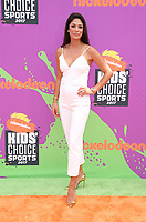 LOS ANGELES, CA July 13- Nicole Johnson, At Nickelodeon Kids' Choice Sports Awards 2017 at The Pauley Pavilion, California on July 13, 2017. Credit: Faye Sadou/MediaPunch