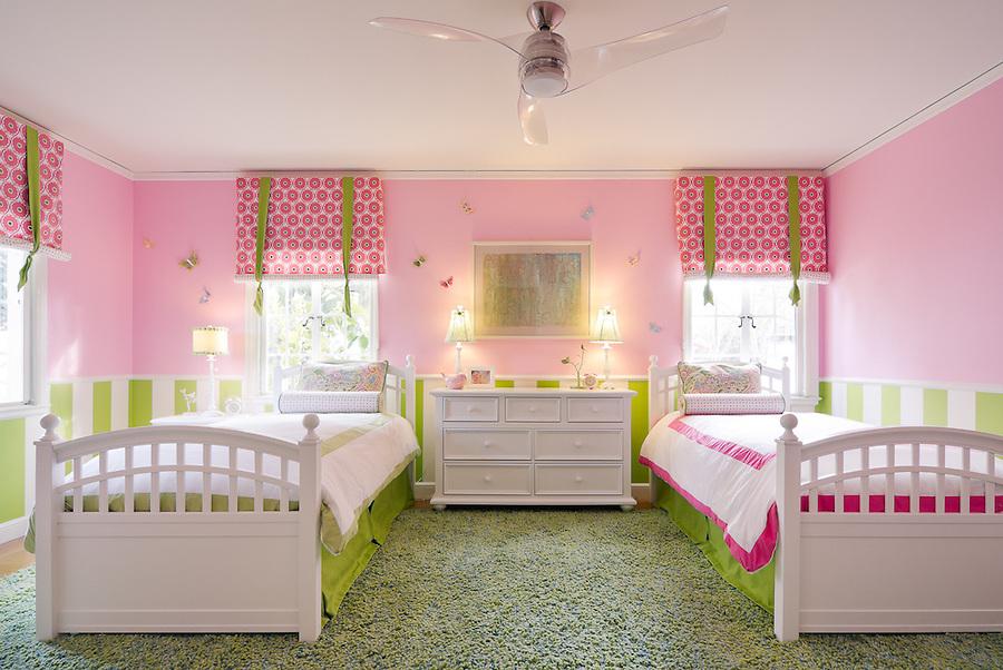 Kids room, Palo Alto, CA, photographed by GP Martin