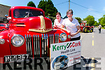 Castleisland Vintage Run from the Half way bar Ballymac on Sunday Kerry Cork Health link were Trish Kelly and Breda Dyland