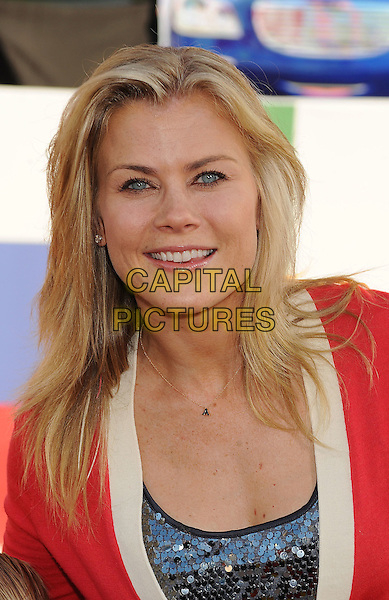 """Alison Sweeney .The Los Angeles Premiere of """"Cars 2"""" at El Capitan Theatre in Hollywood, California, USA..June 18th, 2011.headshot portrait red white.CAP/ROT/TM.©Tony Michaels/Roth Stock/Capital Pictures"""
