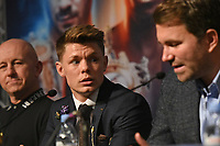 Charlie Edwards during a Press Conference at the Grange City Hotel on 6th February 2019
