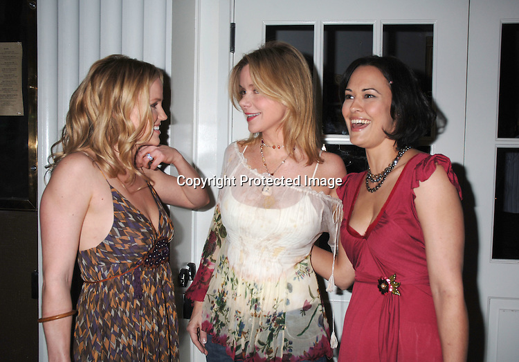 Alexa Havins, Bobbie Eakes and Sydney Penny ..at Marcia Tovsky's Pre Emmy Party on April 19, 2006..at Nikki Midtown...Robin Platzer, Twin Images
