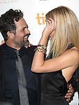 Mark Ruffalo & Gwyneth Paltrow attending the The 2012 Toronto International Film Festival.Red Carpet Arrivals for 'Thanks For Sharing' at the Ryerson Theatre in Toronto on 9/8/2012
