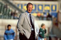 27th April 1988; Dublin, Ireland National trainer Jack Charlton (Ireland); during an friendly internal game in Dublin