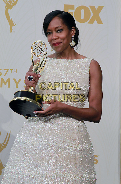 20 September 2015 - Los Angeles, California -  Regina King. 67th Annual Primetime Emmy Awards Press Room held at Microsoft Theater. <br /> CAP/ADM/THB<br /> &copy;THB/ADM/Capital Pictures