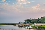Tidal marshes on the Interstate Waterway, Murrels Inlet, SC