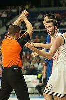 Real Madrid´s Rudy Fernandez during 2014-15 Euroleague Basketball match between Real Madrid and Anadolu Efes at Palacio de los Deportes stadium in Madrid, Spain. December 18, 2014. (ALTERPHOTOS/Luis Fernandez) /NortePhoto /NortePhoto.com