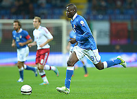 Fussball International  WM Qualifikation 2014   Italien - Daenemark                16.10.2012 Mario Balotelli (Italien)